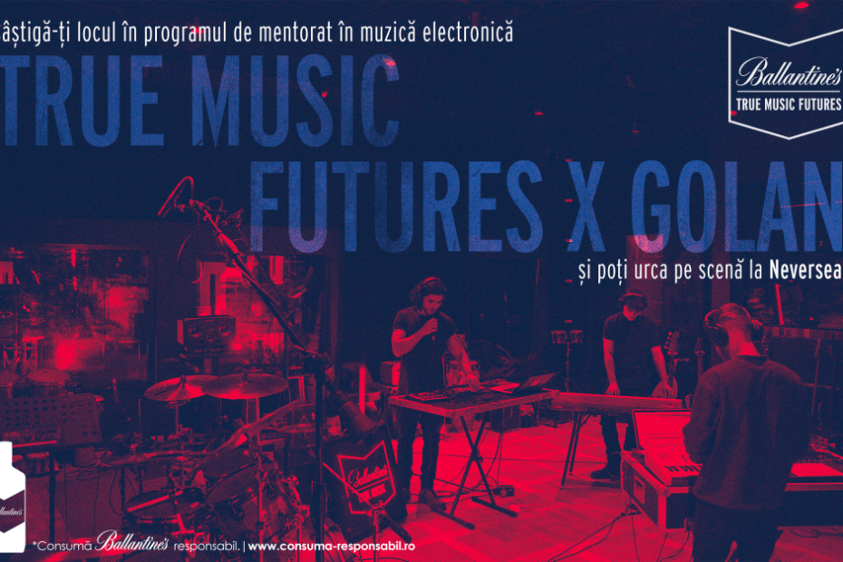 Ballantine's True Music Futures_program mentorat muzica electronica