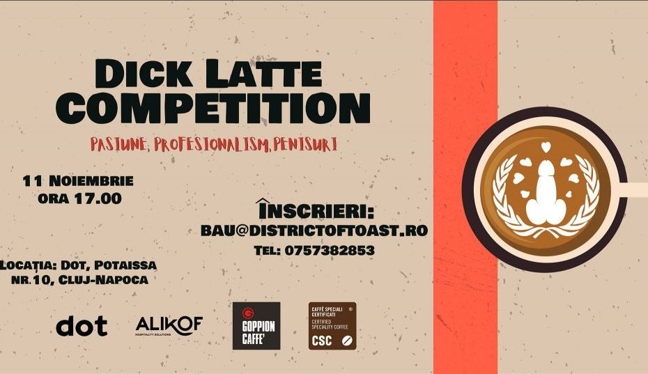 D I C K Latte art Competition