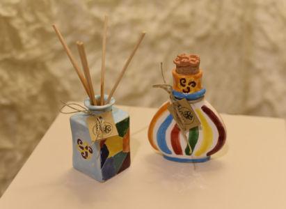 52 - Ciurì Ceramica Art Cubetto 80 ml - Fiaschetta Mini 50 ml
