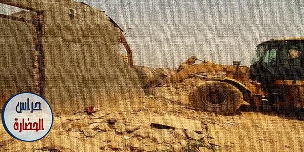 كيفية معاينة التعدى والمرور على الأراضي التابعة للآثار