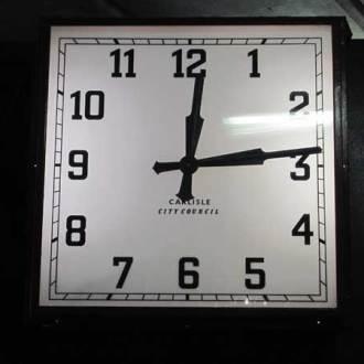 City Council Clock