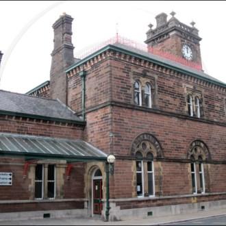 Ulverston railway station clock