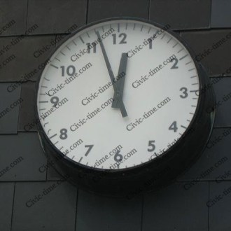 Ormskirk bus station clock
