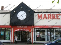 Ormskirk Market Hall, Lancashire