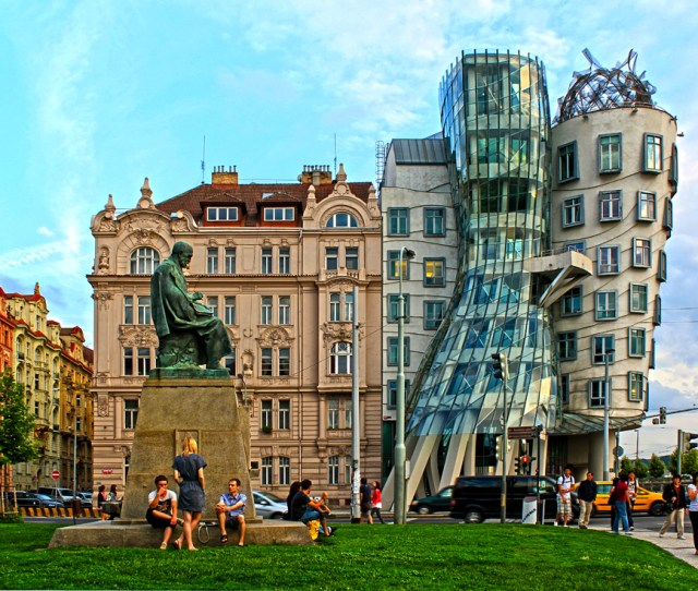 Dancing House Prague Czech Republic Civic Arts Project