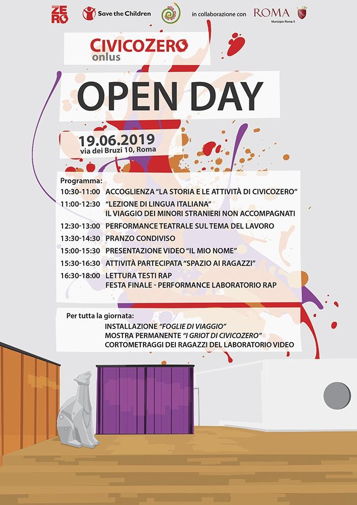 Open Day CivicoZero - Programma