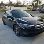 Any Blacked Out 10th Gens Here 2016 Honda Civic Forum 10th Gen Type R Forum Si Forum Civicx Com