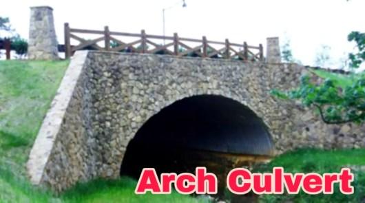 Arch Culvert, different types of culvert