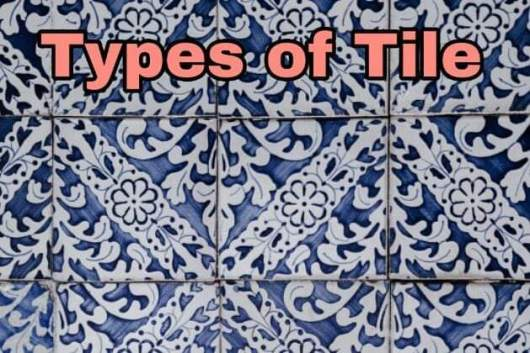 how many types of floor tiles are there