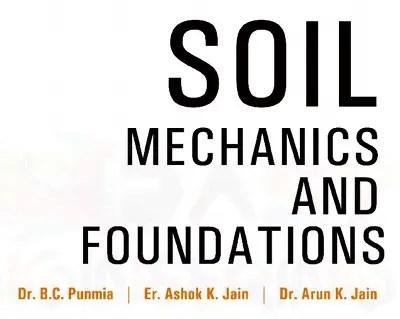 Soil mechanics by bc punmia pdf free download