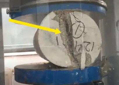 Split tensile strength of concrete