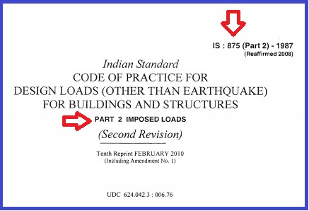 IS 875 part 2- Free Download .PDF file for Buildings And Structures