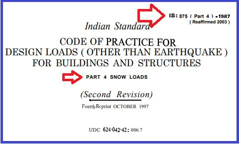 IS 875 part 4- Free Download .PDF For Buildings And Structure