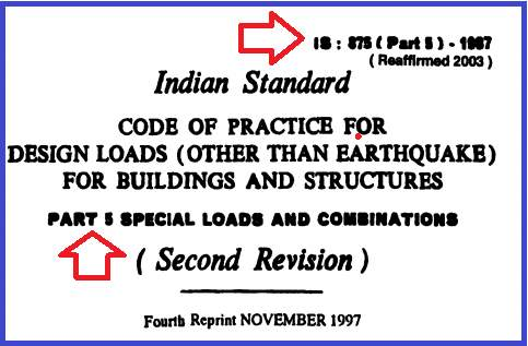 Is 875 part 5- Download Free .PDF files For Buildings and Structures