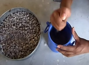 Aggregate crushing value test | Step by Step Procedure with Calculation