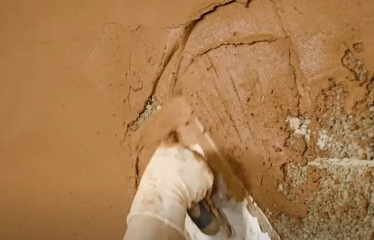 Types of plaster- Minimum thickness, and Procedure to apply Plaster