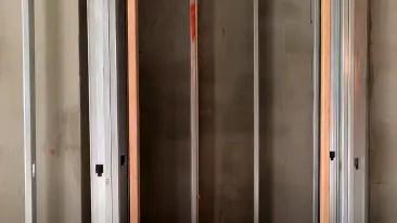 Prepanalized metal stud walls