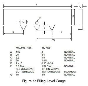 filling level gauge