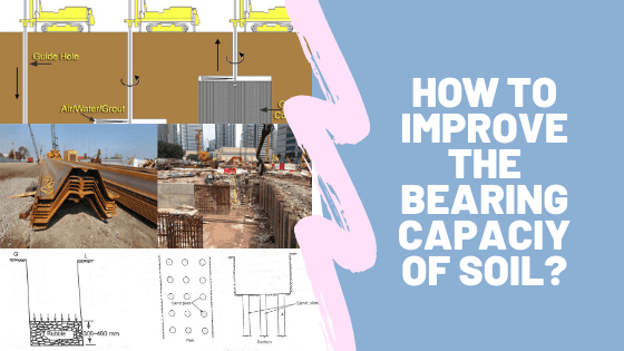 How to Improve the Bearing Capacity of Soil?