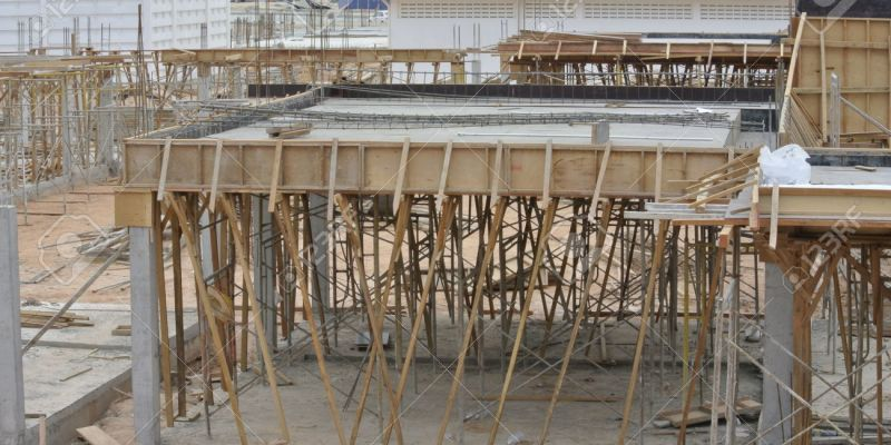 Calculation of Loads and Pressures on Concrete Formwork