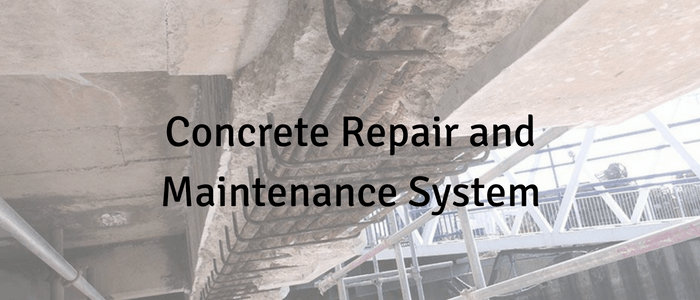Concrete Repair and Maintenance System