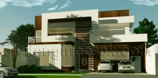 New 1 Kanal House Plan
