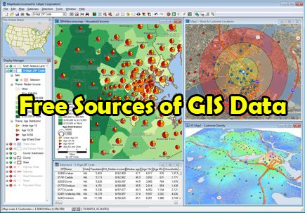 Free GIS data for Asia and Europe