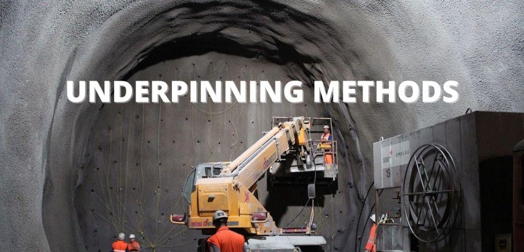 Underpinning Methods