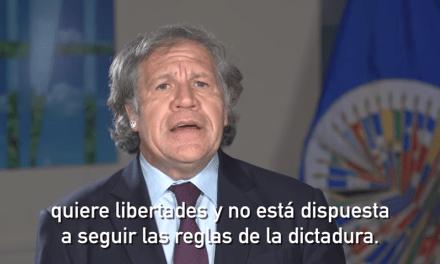 Mensaje del Secretario General de la OEA sobre elecciones Venezuela