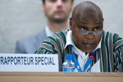 Naciones Unidas publica Segundo Informe del Relator Especial de Libertad de Reunión Pacífica y de Asociación, Maina Kiai