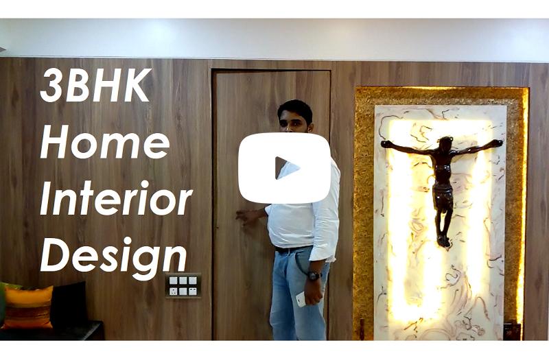 3BHK Home Interior Design