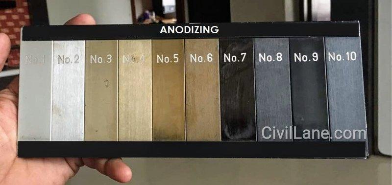 Aluminum Window Anodizing Cost | CivilLane