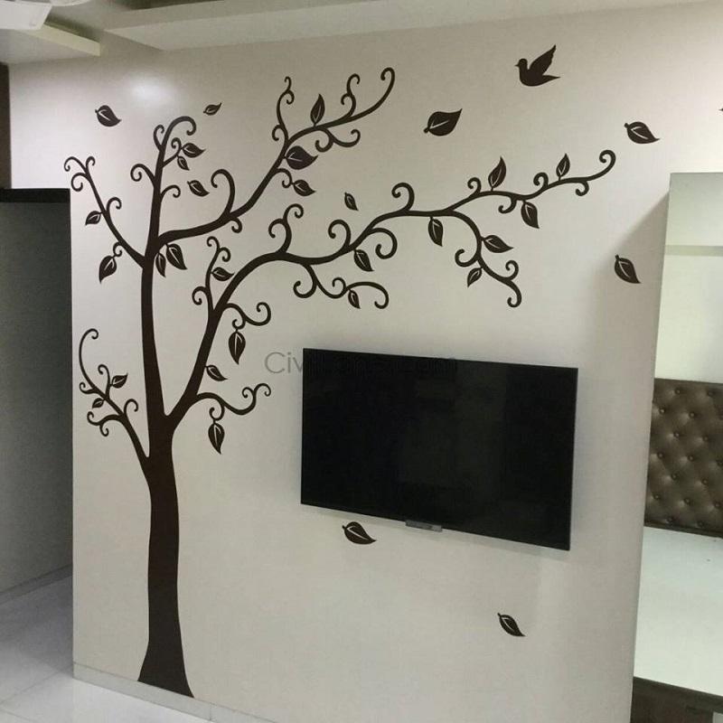 Living Room Wall Painting Ideas – CivilLane
