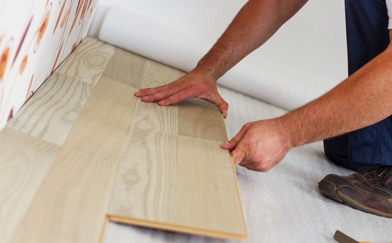 Laminate Wooden Flooring Sample