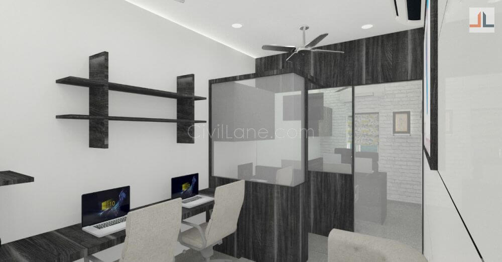Wonderful View Larger Image Small Office Space Design Mumbai 200 Square Feet
