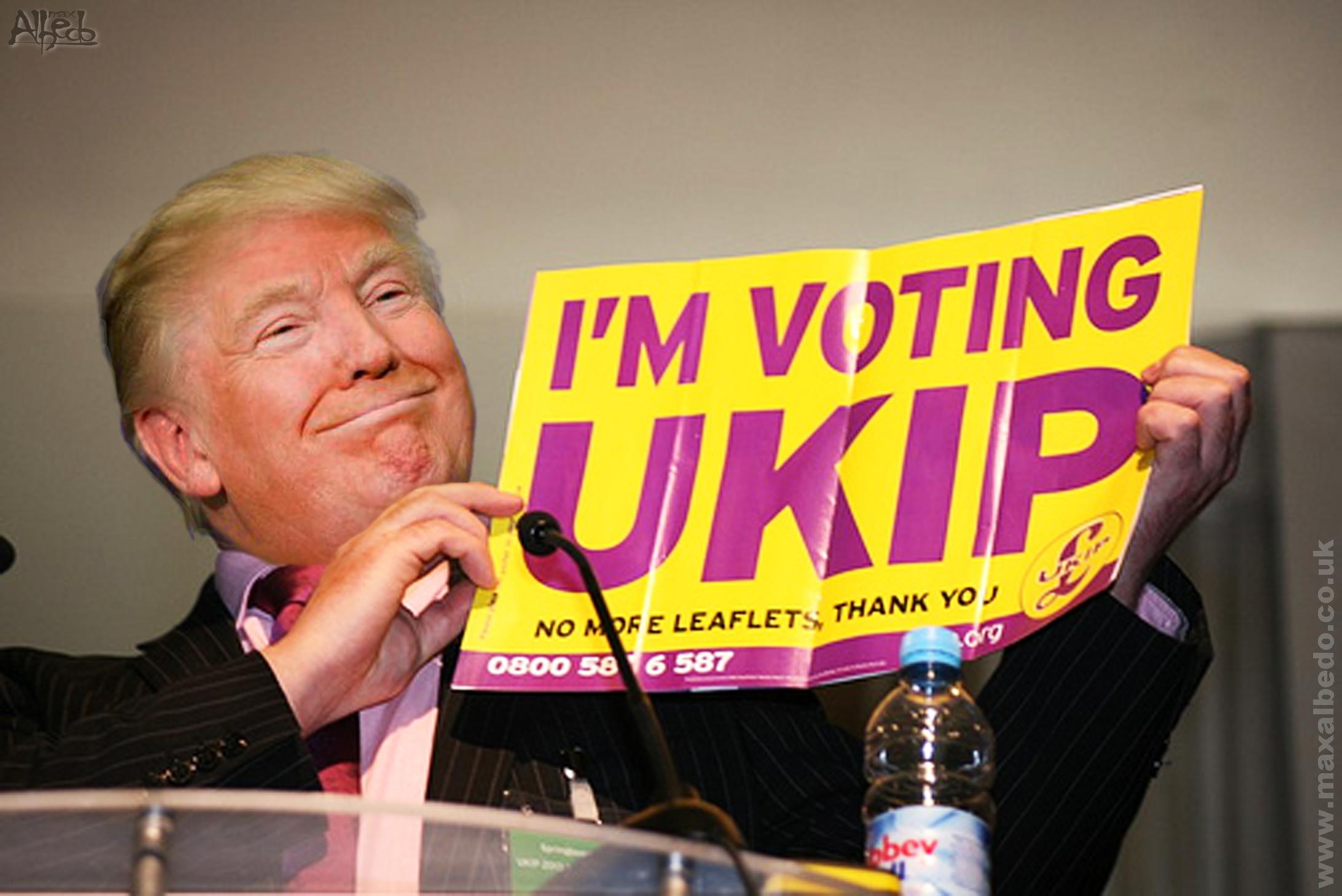 Donald Trump would vote UKIP