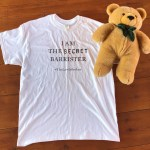 THE SECRET BARRISTER: YOU'VE READ THE BOOK NOW GET THE (SIGNED) T-SHIRT: AUCTION FOR CHARITY