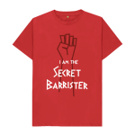 THE SECRET BARRISTER T SHIRT COMPETITION: THE OUTCOME: THE COTTON T-SHIRT IS NOW ON ITS WAY TO A SILK...