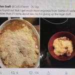 YOUR CHANCE TO BECOME A CELEBRITY CHEF: THE BILLABLE HOUR CHARITY COOKBOOK: THAT'S HOW THE APPLE CRUMBLES