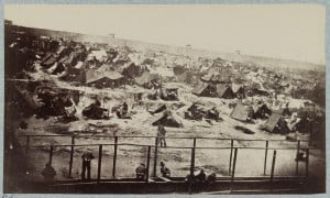 Andersonville Prison South View, August 17th 1864