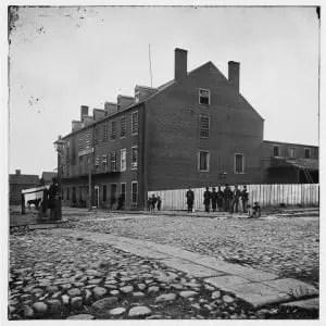 Castle Thunder Prison, Richmond, Virginia 1865