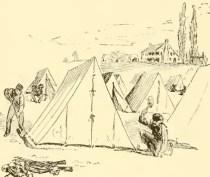 Civil War A Tent