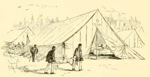 Civil War Hospital Tent