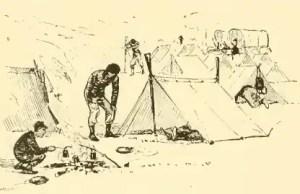Civil War Shelter Tent