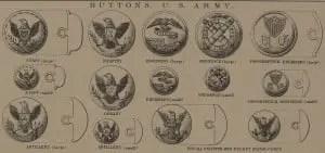 Civil War Uniform Union Buttons