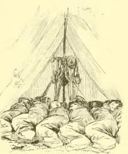 Inside Civil War A Tent