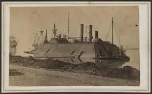 Ironclad USS Essex in 1862