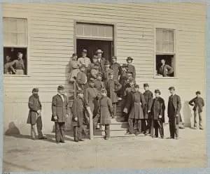 Surgeons and Stewards at Harewood Hospital, Washington, D.C.