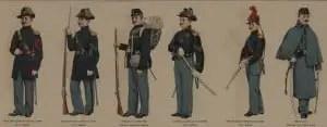 Union Civil War Enlisted Uniforms