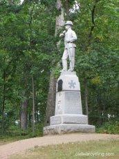 24th MI, Iron Brigade Monument